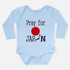 Pray for Japan Long Sleeve Infant Bodysuit