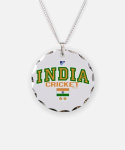 IN India Indian Cricket Necklace