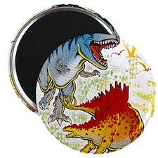 "T-Rex fight 2.25"" Magnet (100 pack)"