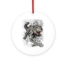 Big Rex Ornament (Round)