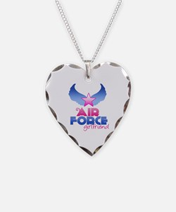 Air Force Girlfriend - Wings - Necklace