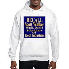 Recall Scott Walker Hoodie