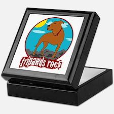 Tripawds Rock (Trouble) Keepsake Box