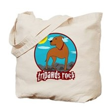 Tripawds Rock (Trouble) Tote Bag