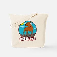 Tripawds Rock (Trouble) Tote Bag