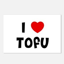 I * Tofu Postcards (Package of 8)