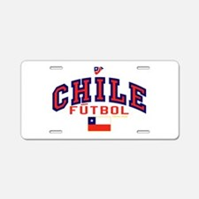 CL Chile Futbol Soccer Aluminum License Plate