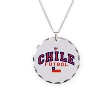 CL Chile Futbol Soccer Necklace