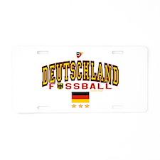 Deutschland Fussball Soccer Aluminum License Plate