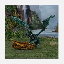 Dragon Hatchlings Tile Coaster