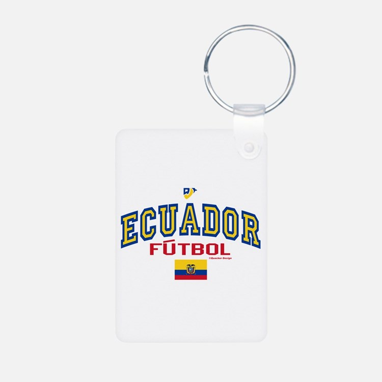 Ecuador Futbol/Soccer Keychains