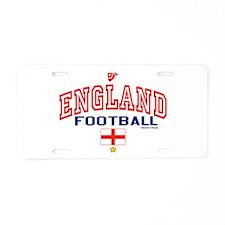 England Football/Soccer Aluminum License Plate