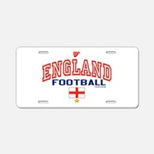 England Football/Soccer Aluminum License Plate