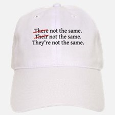 There Their They're Not The S Baseball Baseball Cap