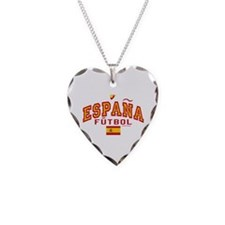 Espana Futbol/Spain Soccer Necklace