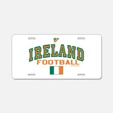 Ireland Football/Soccer Aluminum License Plate