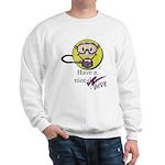 Diving Smiley - pink Sweatshirt
