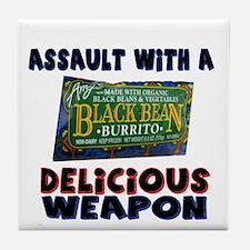 Funny Deadly Burrito Tile Coaster