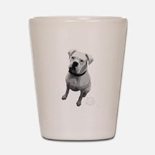 BOXER BREED Shot Glass