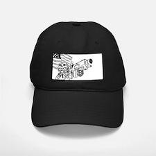Robot Monkey Baseball Hat