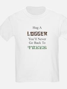 Hug a Logger Kids T-Shirt