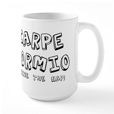 Carpe Dormio Seize The Nap Sh Large Mug