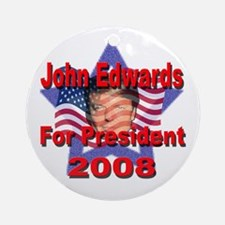 Edwards 2008! Ornament (Round)