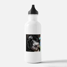 Cute Portuguese water dog Water Bottle