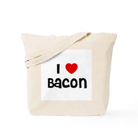 I * Bacon Tote Bag
