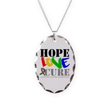 Hope Love Cure Autism Necklace