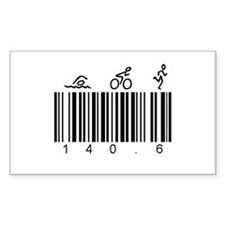 Bar Code 140.6 Decal