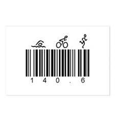 Bar Code 140.6 Postcards (Package of 8)