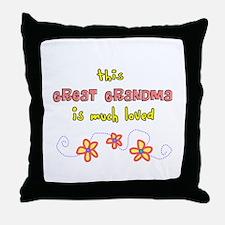 More Grandparents Throw Pillow