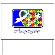 Autism Awareness Tile Yard Sign
