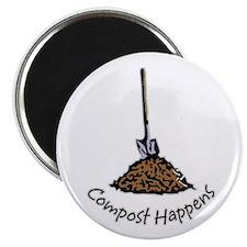 Compost Happens Magnet