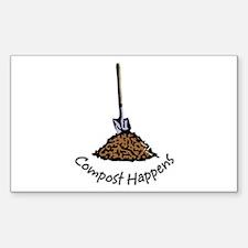 Compost Happens Bumper Stickers