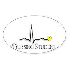 Nursing Student XXX Decal