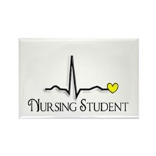 Nursing Student XXX Rectangle Magnet