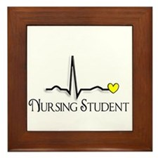 Nursing Student XXX Framed Tile