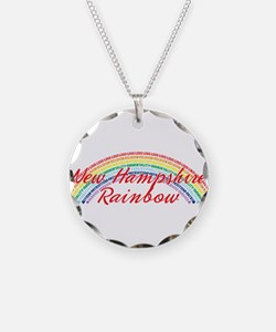New Hampshire Rainbow Girls Necklace