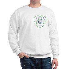 Three Religions with One God Sweatshirt