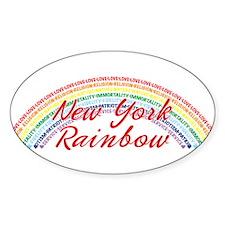 New York Rainbow Girls Decal