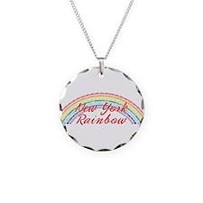 New York Rainbow Girls Necklace