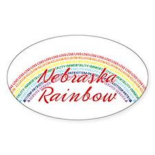 Nebraska Rainbow Girls Decal