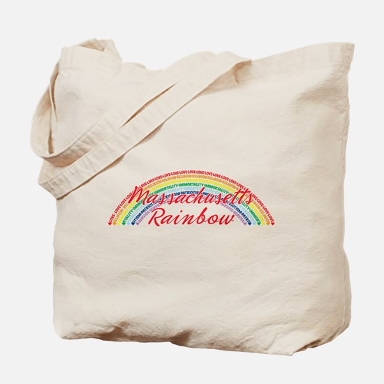 Massachusetts Rainbow Girls Tote Bag