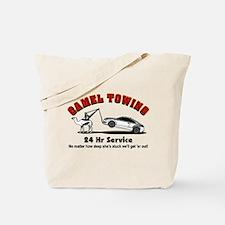 Camel Towing Tote Bag