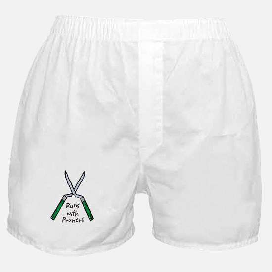Runs with Pruners Boxer Shorts
