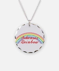 Arkansas Rainbow Girls Necklace
