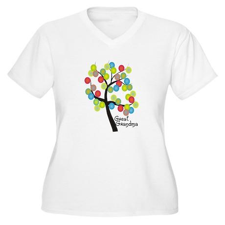 Family Gifts Women's Plus Size V-Neck T-Shirt