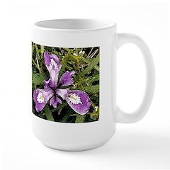 Pacific Coast Iris Wraparound Mug